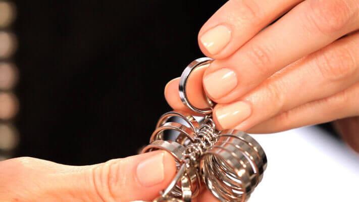 μετρηση δαχτυλου για δαχτυλιδι