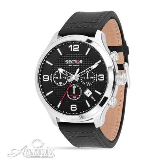 Ρολόι sector Chronograph με δερμάτινο λουρί R3271804002
