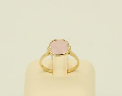 Δαχτυλίδι Χρυσό 14Κ με Αχάτη - gr580
